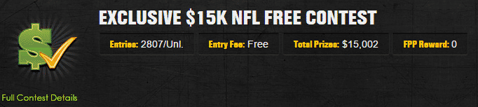 draft kings free roll