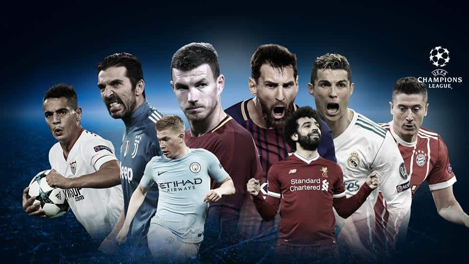 2018 Champions League Quarterfinals: April 4th