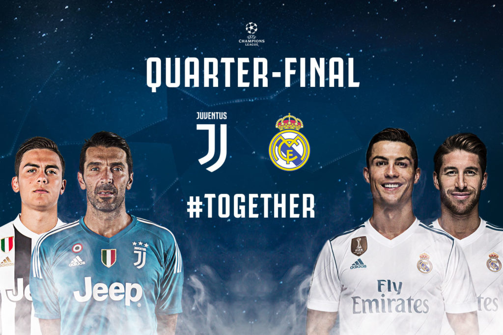 2018 Champions League Quarterfinals April 3rd