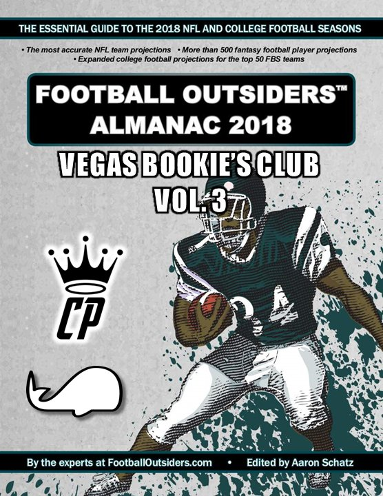 Inside Vegas: Vegas Book-ies Club Vol. 3: Football Outsiders Almanac W/ The White Whale (Ep. 29)