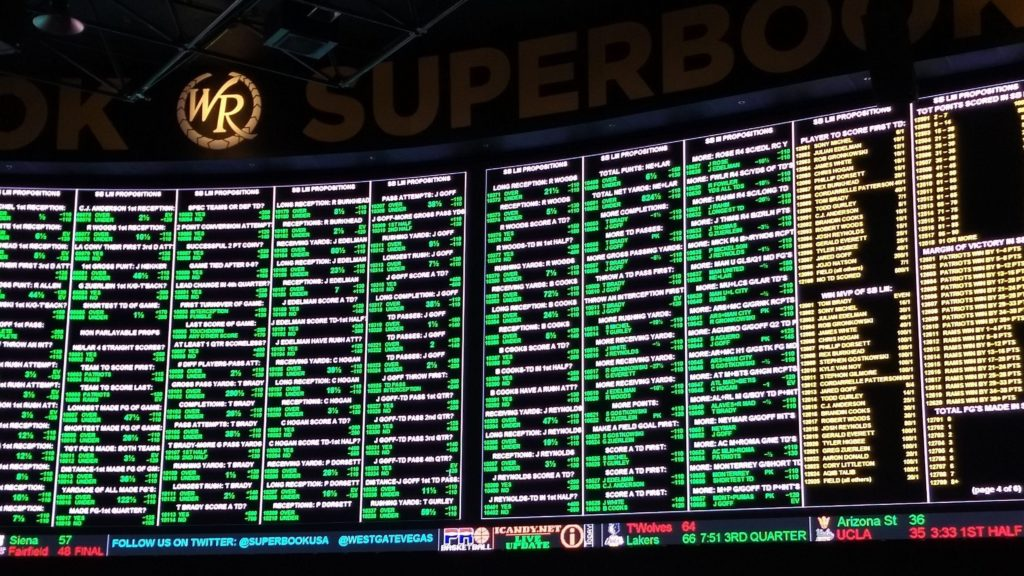 Vegas Shows The Difference In Proper Book Making - Sports Gambling ... e811dbca5