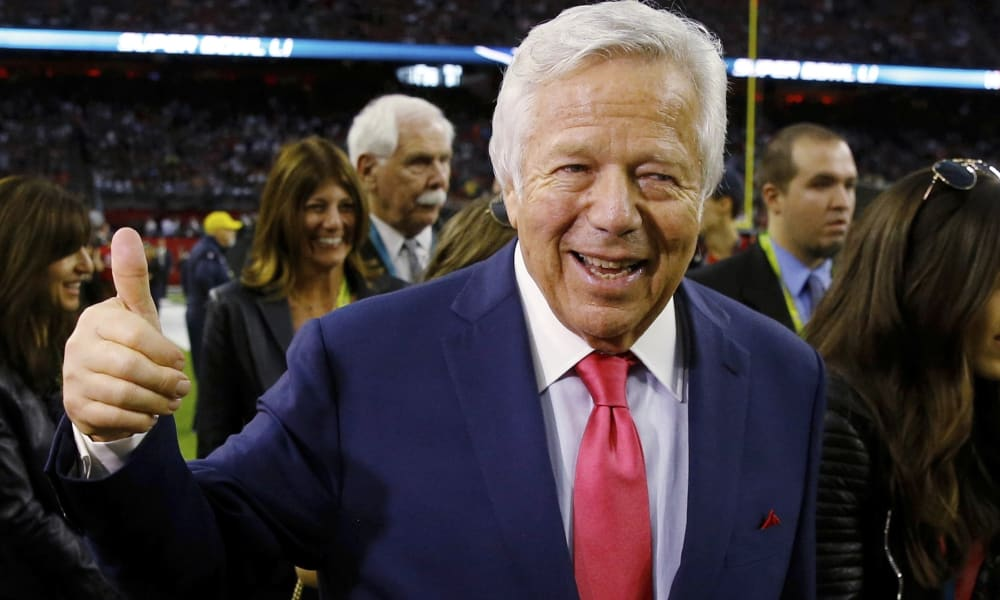 robert kraft rub and tug
