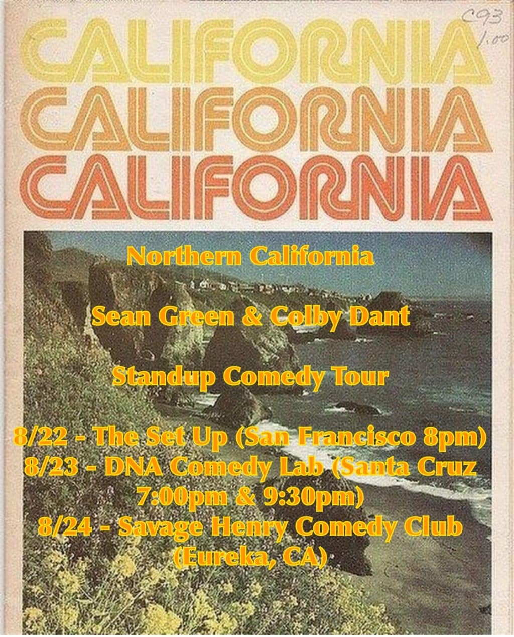 sean green and colby dant comedy tour