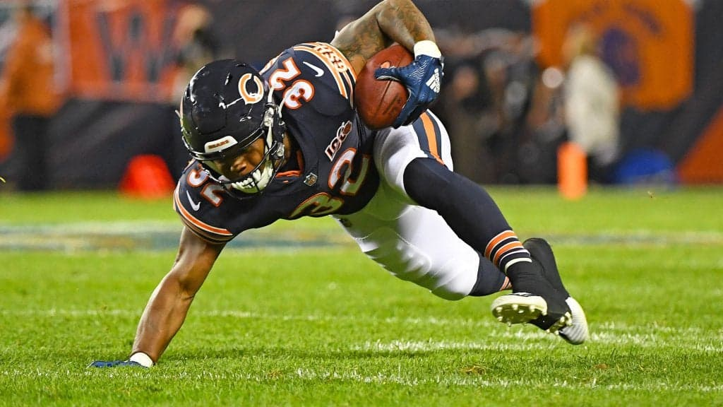 Monday Night Football Prop Bets: Chicago Bears vs Washington Redskins
