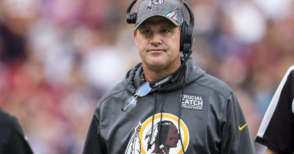 with jay gruden gone, who's next on the chopping block