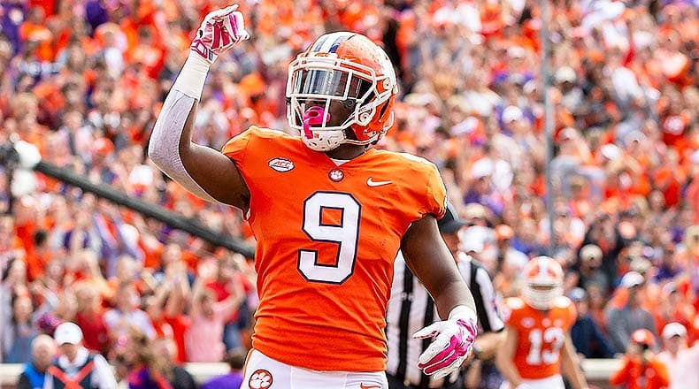 clemson national championship odds