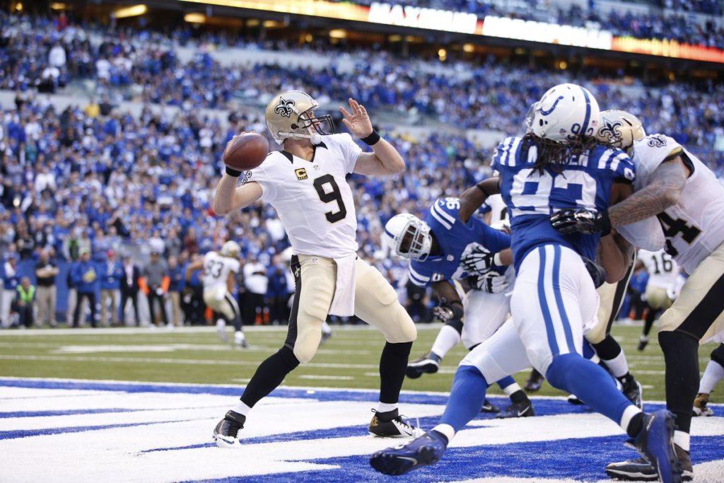 NFL Monday Night Football DraftKings Showdown Picks - IND at NO