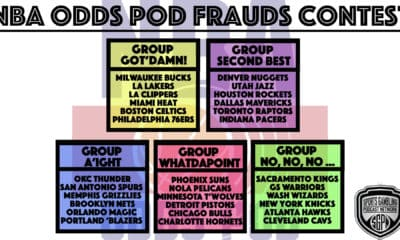 NBA Odds Pod Frauds Contest: Free Entry, $500 to First Place!