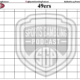 Printable Super Bowl 54 Squares Grid | Kansas City Chiefs Vs San Francisco 49ers