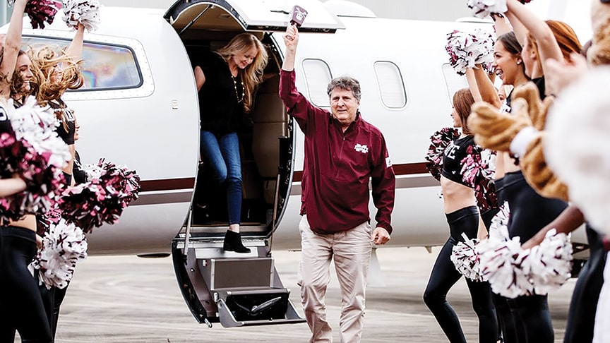 mike leach mississippi state interview