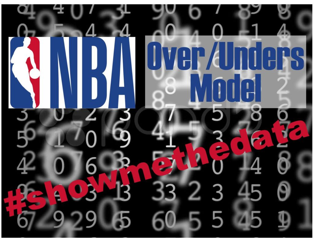 NBA Over/Unders Model Breakdown - How To Build Your Own Model