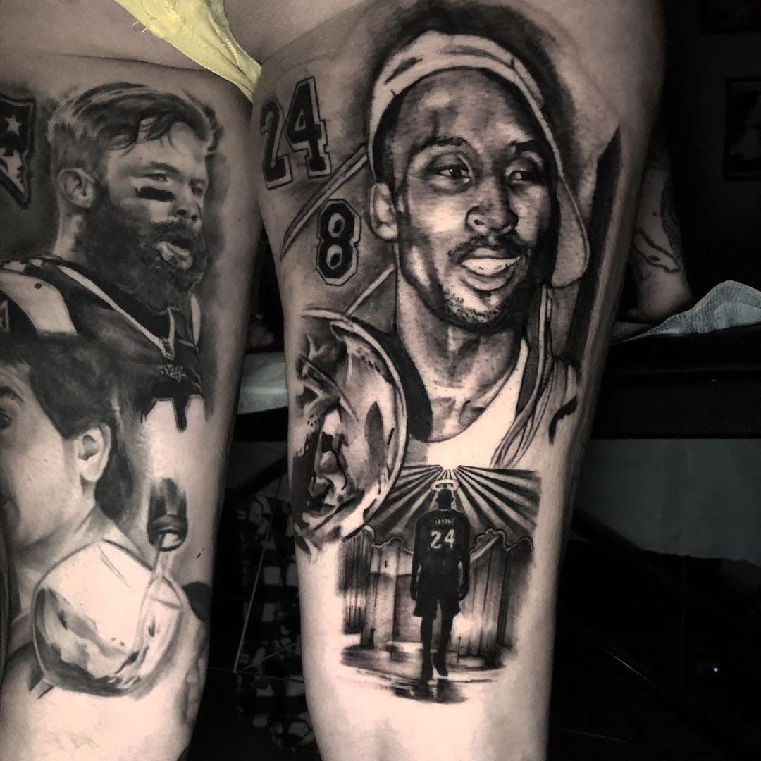 Top 24 Kobe Bryant Dedication Tattoos
