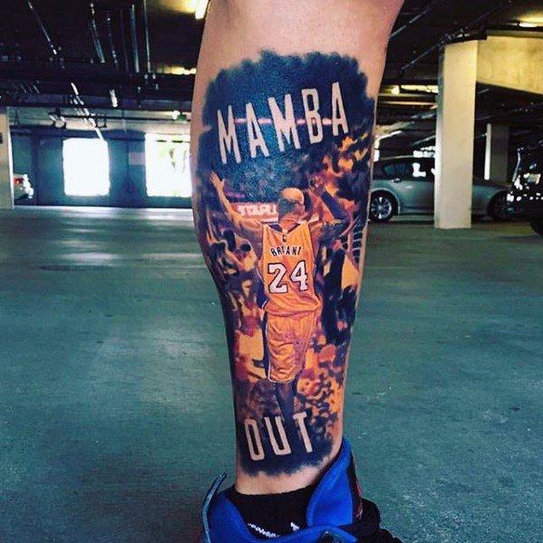 Top 24 Kobe Dedication Tattoos