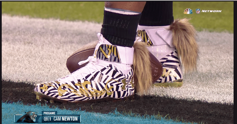 cam newton tiger cleats