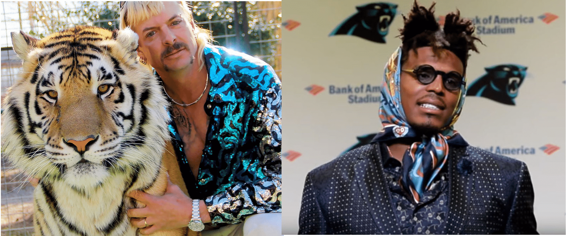 joe exotic cam newton