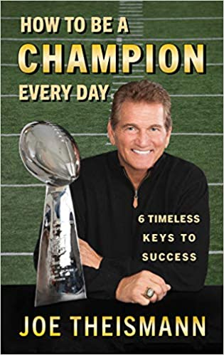 joe theismann book how to be a champion
