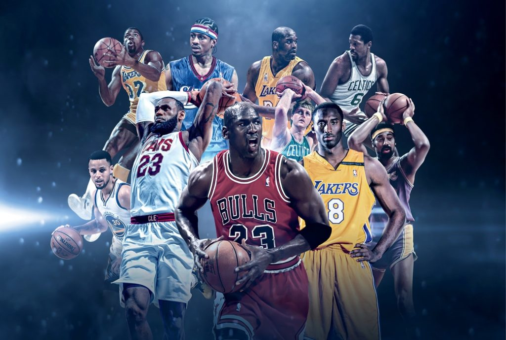 Top 10 College & NBA Players ever