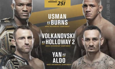 UFC 251 Preview: Fight Island Odds and Picks for Every Fight
