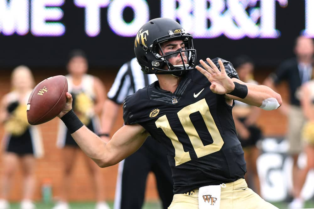 Campbell vs Wake Forest Preview   The College Experience (Ep. 287)