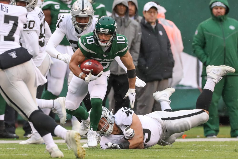DraftKings Thursday Night Showdown Picks: Broncos vs. Jets