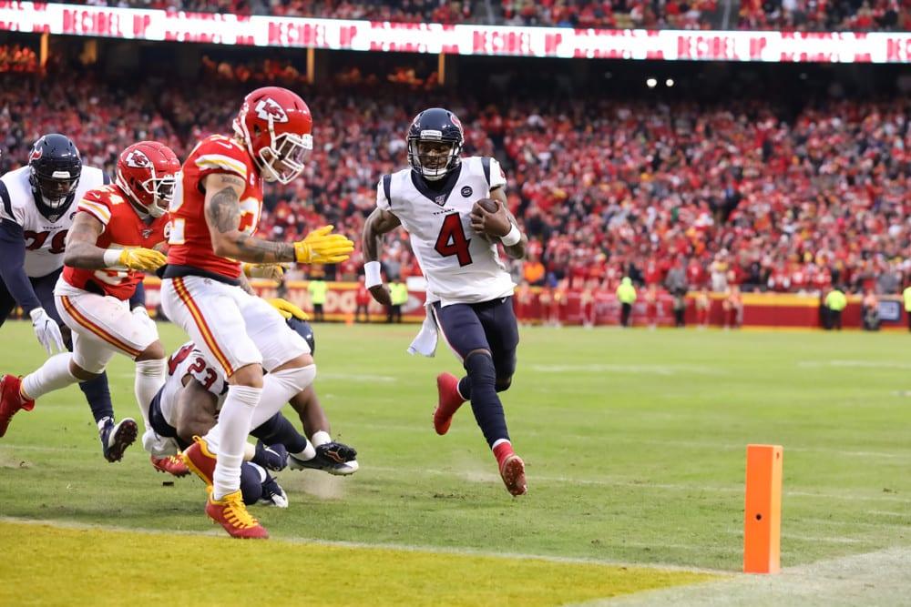 DFS Showdown Picks: Texans vs. Chiefs