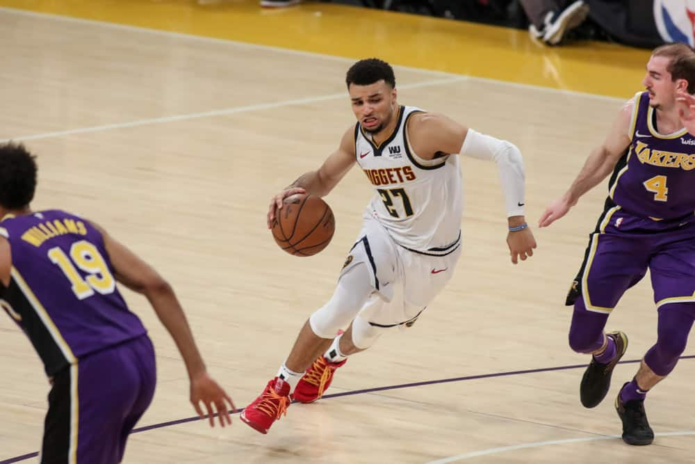 Lakers Nuggets Odds, Celtics Heat Picks | NBA Gambling Podcast (Ep. 85)