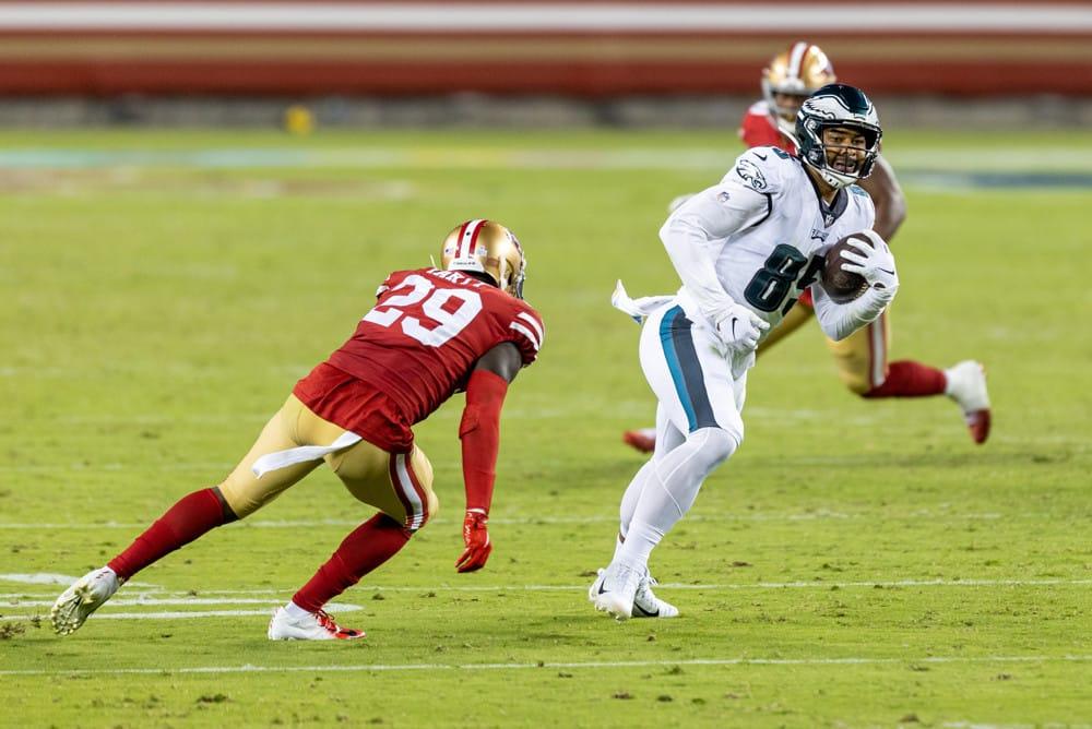 DraftKings Thursday Night Showdown Picks Giants vs Eagles