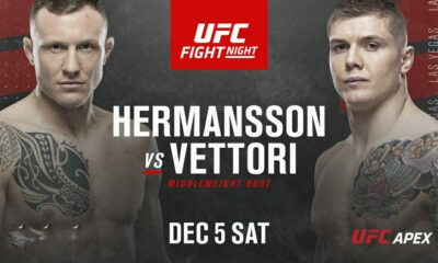 UFC Predictions Vegas 16 Full Fight Card