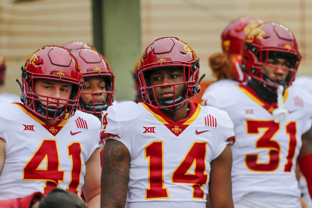 Big 12 Conference Iowa State vs Oklahoma Preview | The College Experience (Ep. 469)