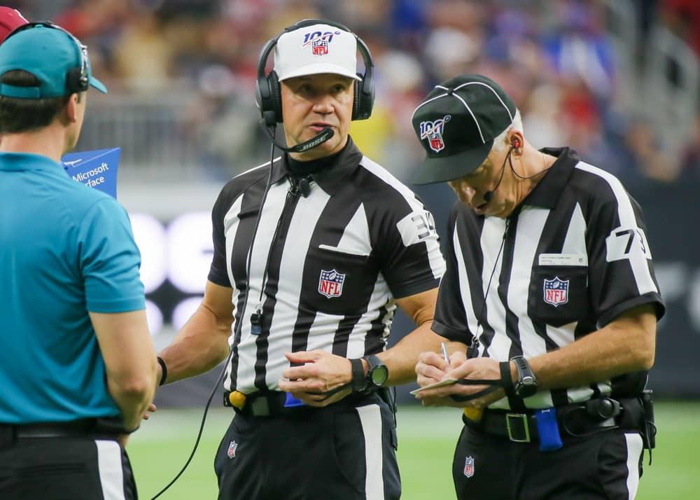 NFL Week 14 Referee Stats Report