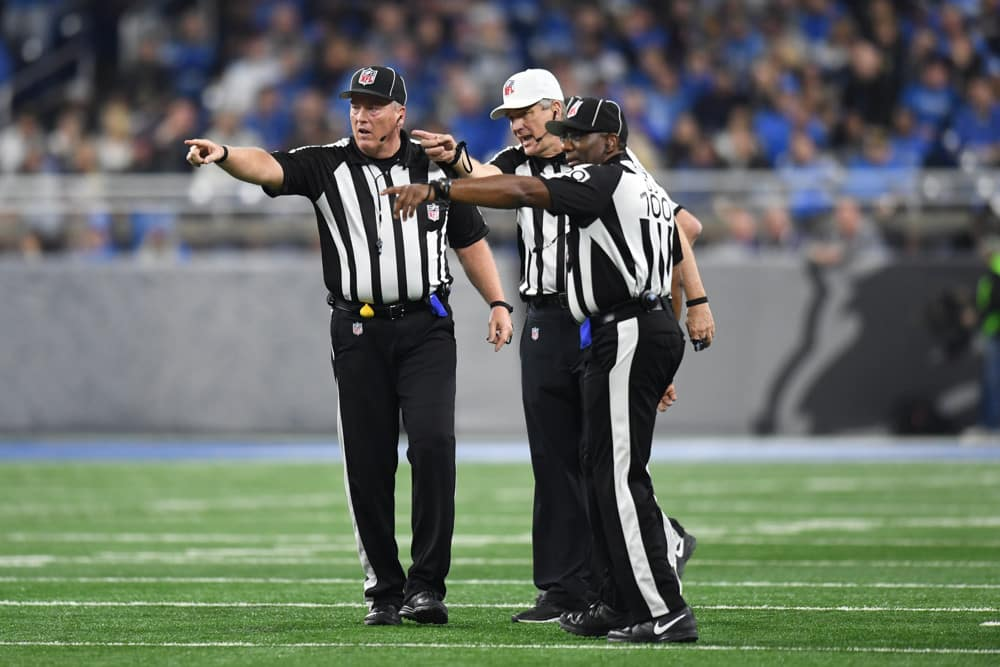 NFL Week 16 Referee Stats Report