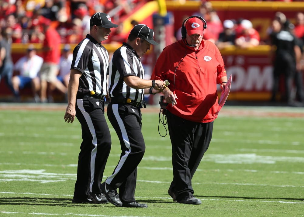 NFL Divisional Round Referee Assignments and Betting Trends