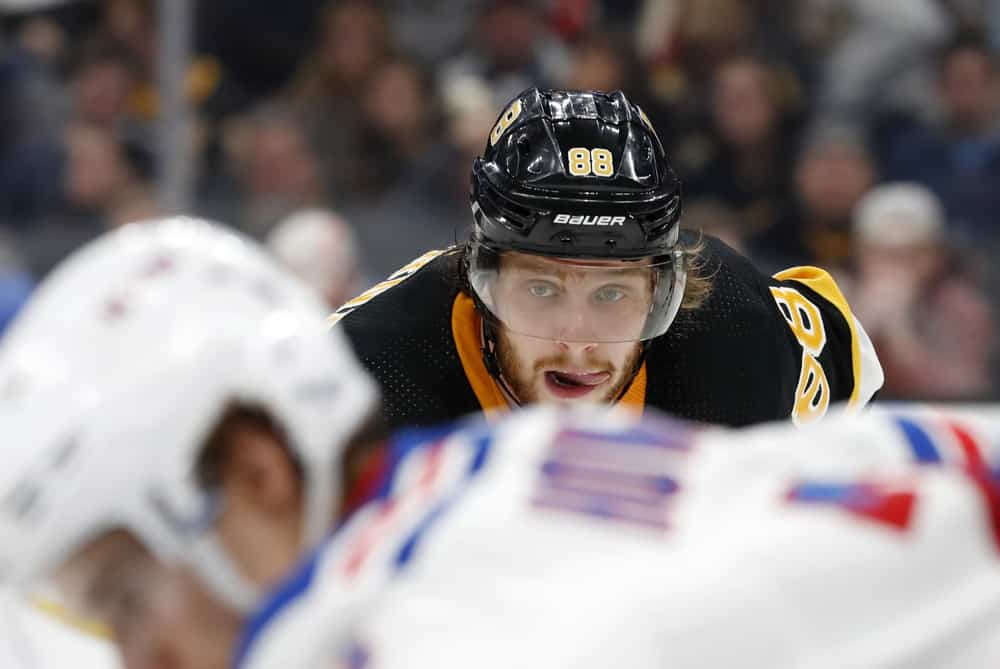 NHL DraftKings Showdown: Lineup Build For Bruins vs. Rangers