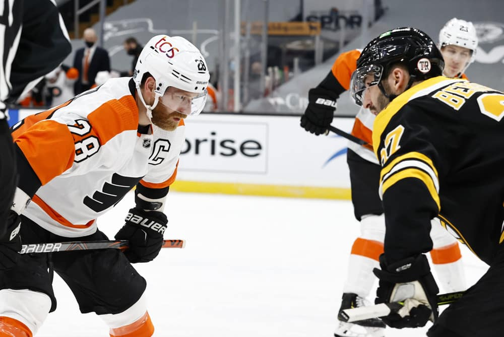 DraftKings NHL Showdown: Red Wings vs. Lightning And Bruins vs. Flyers