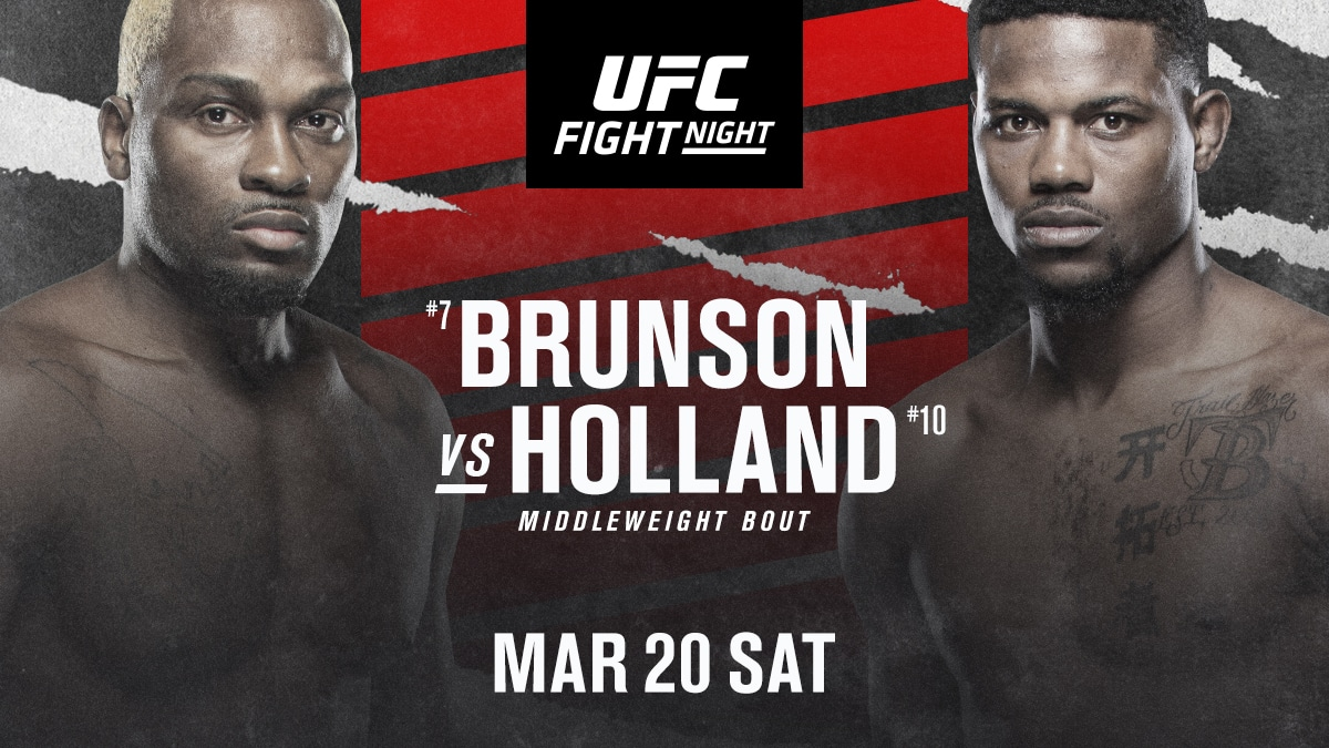 Brunson vs Holland Preview & Picks | MMA Gambling Podcast (Ep. 21)