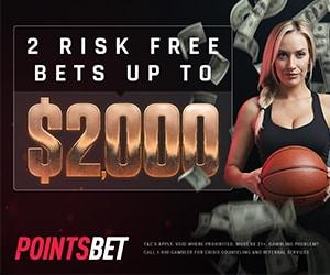 pointsbet risk free bet