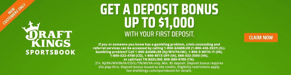 draftkings deposit bonus