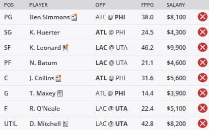 NBA DFS Picks 6/8 - DraftKings GPP