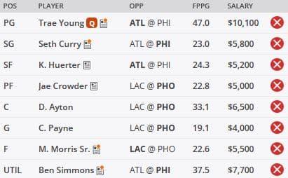 NBA DFS Picks 6/20 - DraftKings GPP Picks