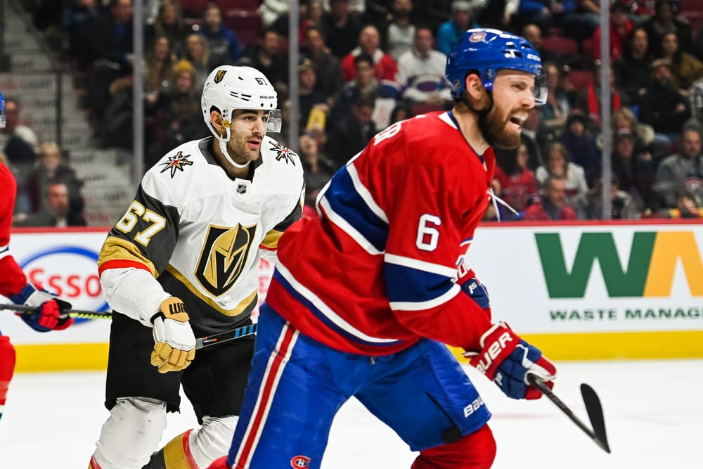 NHL Playoffs Predictions: Golden Knights vs. Canadiens Odds, Schedule, Picks