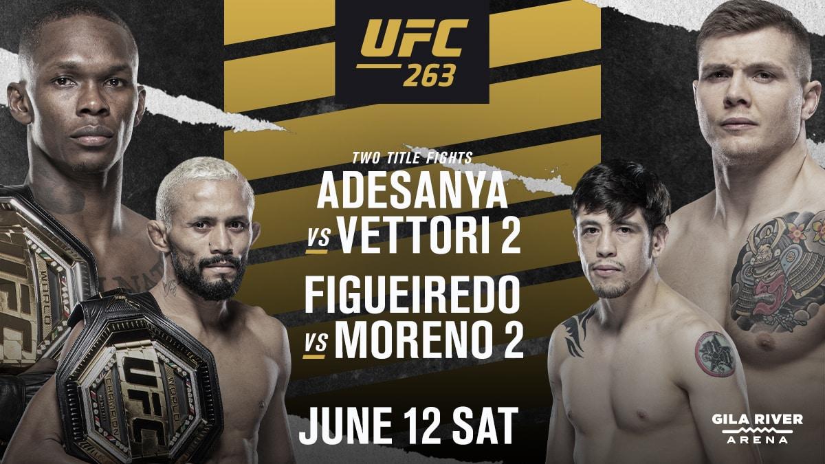 UFC 263 Predictions