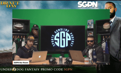 Final Hour Of Draft Day - Fantasy Football Best Ball 24 Hour Stream (Ep. 1051)