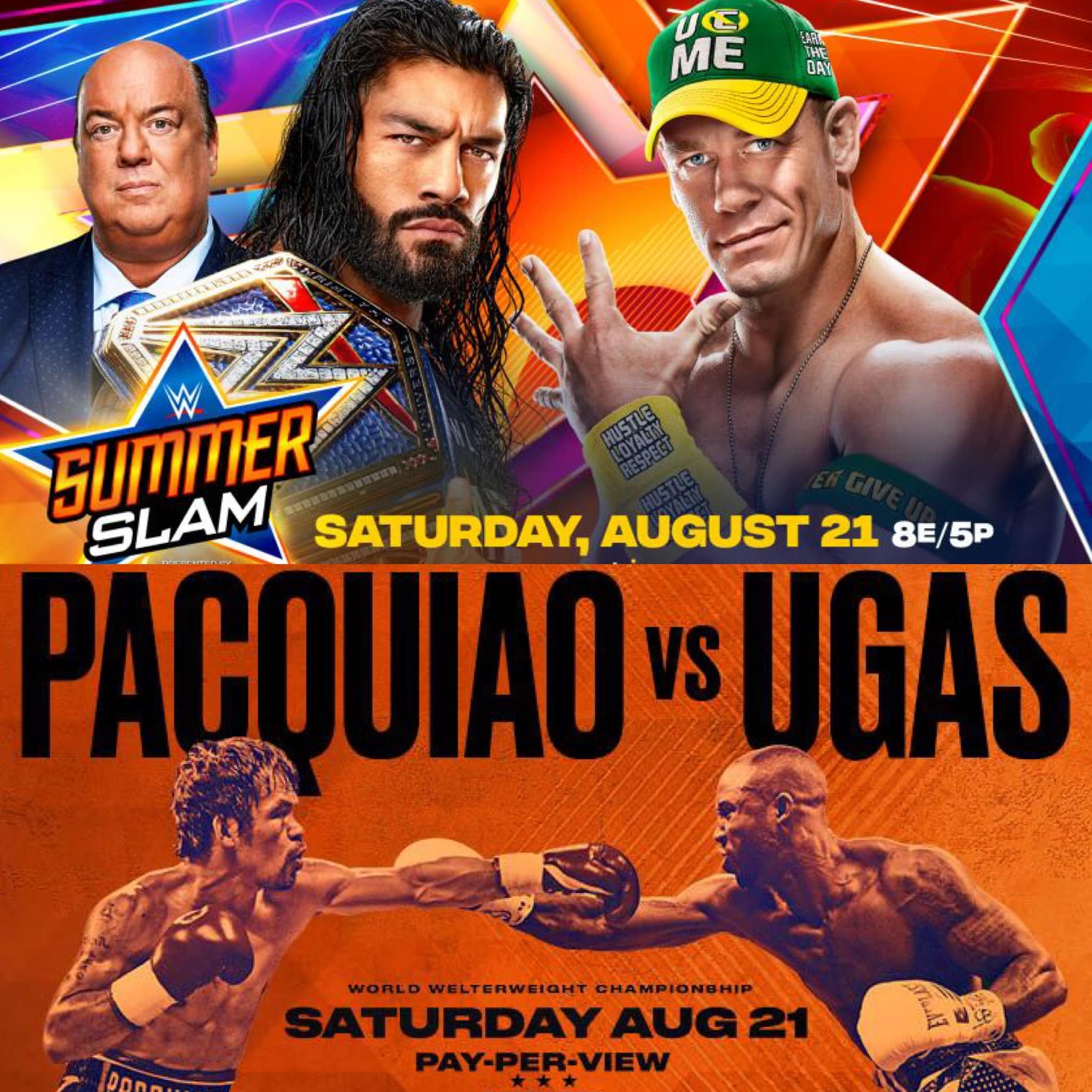 Pacquiao vs Ugas + WWE SummerSlam - Reigns vs Cena | The Fight Show (Ep. 44)