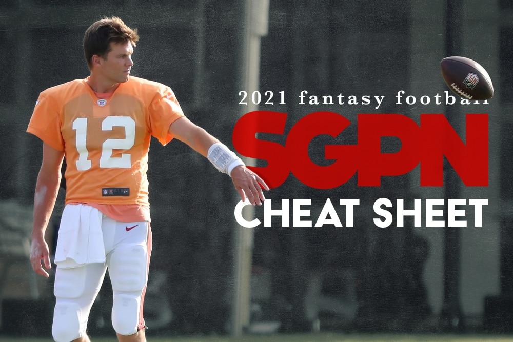 SGPN Fantasy Football Cheat Sheets