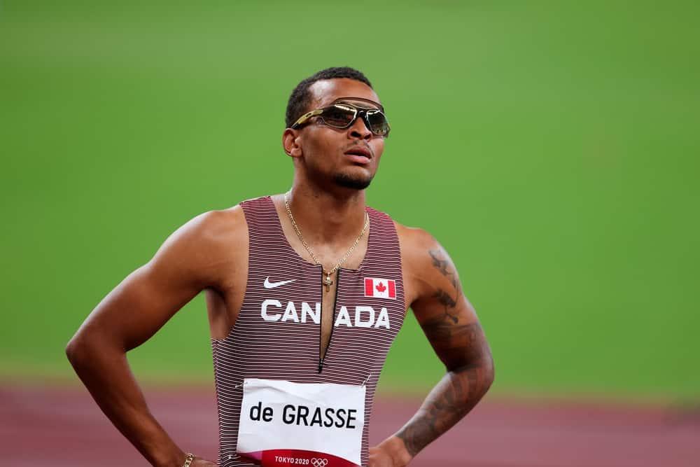 Andre De Grasse Quest for the 200m Crown