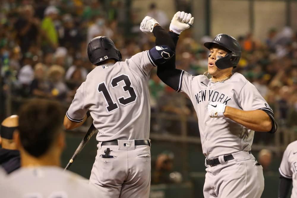 MLB DFS Picks 8/29 – Sunday Night Baseball NYY vs OAK