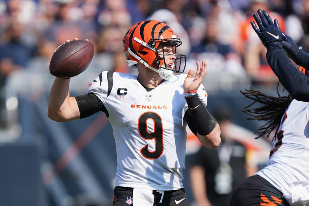 Peluang & Pilihan Alat Peraga Pemain NFL: Jaguar vs Bengals
