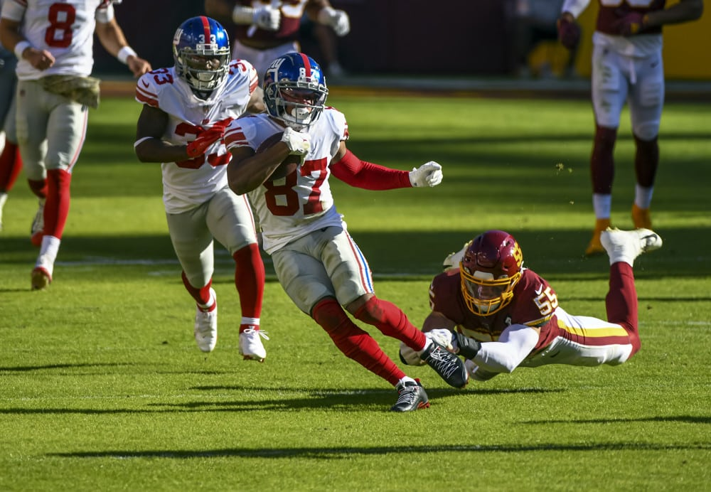 Peluang Props Pemain NFL: New York Giants vs. Tim Sepak Bola Washington