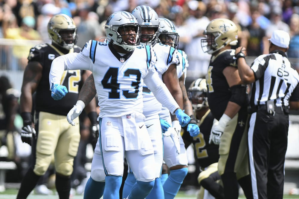 Minggu 3 NFL Kamis Malam Football DraftKings Picks: Panthers vs. Texas