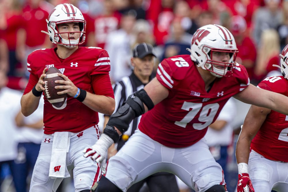 Wisconsin Badgers vs Notre Dame Fighting Irish Betting Prediction & Preview   The College Football Experience (Ep. 849)
